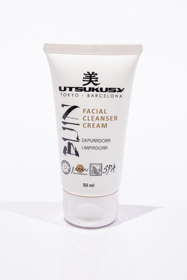 crema limpiadora y depuradora de la piel con efecto vapor de ozono de utsukusy cosmetics