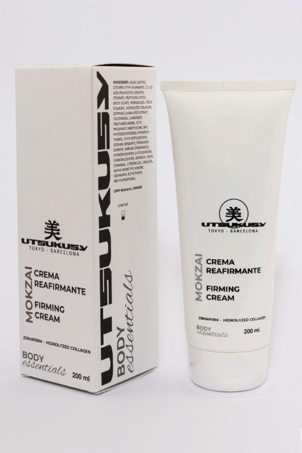 crema reafirmante corporal de utsukusy cosmetics